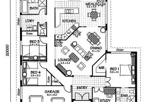 Free Australian House Designs and Floor Plans the Arlington Australian House Plans