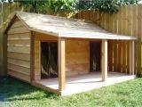 Free Dog House Plans for 2 Dogs Diy Dog House for Beginner Ideas