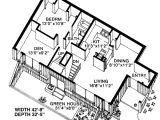 Free Earth Sheltered Home Plans Contemporary Earth Sheltered S House Plan 19863 House