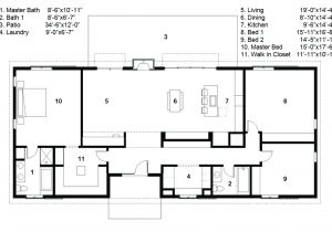 Free Floor Plans For Ranch Style Homes Ranch Style Home Plans