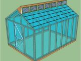 Free Green Home Plans 15 Free Greenhouse Plans Diy