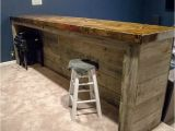 Free Home Bar Plans Diy Man Cave Wood Pallet Bar Free Diy Plans