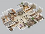 Free Home Floor Plans 3 Bedroom Apartment House Plans
