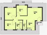 Free Home Plans Cheap 3 Bedroom House Plan 3 Bedroom House Plan south