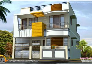 Free Home Plans Indian Style House Design Indian Style Plan and Elevation Lovely