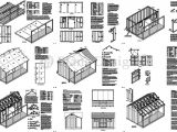 Free House Plans with Material List 12 39 X 16 39 Shed with Porch Pool House Plans P81216 Free