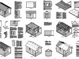 Free House Plans with Material List 16 39 X 10 39 Cabin Poolhouse Shed with Porch Plans P61610