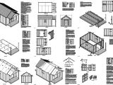 Free House Plans with Material List 20 39 X 12 39 Guest House Garden Porch Shed Plans P72012
