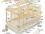 Free Log Home Plans Free Plans Build Your Own Cabin for Under 4 000 Tiny