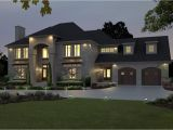 Free Modern Home Plan Big Modern House Plans Architecture Modern House Plan