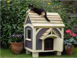 Free Outside Cat House Plans Outdoor Cat House Plans Cat Stuff Pinterest