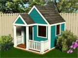 Free Play House Plans Playhouse with Loft Plans Simple Playhouse Plans Simple