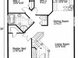 Free Small Home Floor Plans Barrier Free Small House Plan 90209pd 1st Floor Master