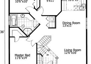 Free Small Home Plans Barrier Free Small House Plan 90209pd 1st Floor Master
