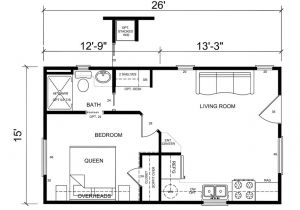 Free Small Home Plans Small One Bedroom Cabin Floorplans Joy Studio Design
