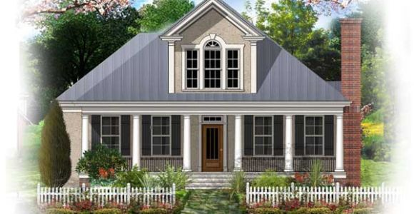 French Colonial Home Plans Type Of House French Colonial
