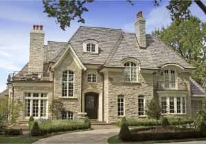 French Luxury Home Plan Authentic French Country House Plans Intended for French