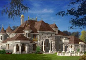 French Luxury Home Plan French Style Bedroom French Castle Style Home Chateau