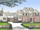 French Manor Home Plans Classic French Country Manor Home 48267fm