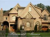 French Manor Home Plans Traditional French Country House Plan River Crest Manor