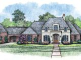 French Style Home Plans French Country House Plan 4 Bedrooms 3 Bath 4000 Sq Ft
