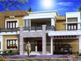 Front View Home Plans Different Views Of 2800 Sq Ft Modern Home Kerala Home
