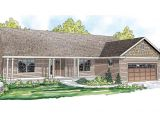 Front View Home Plans Ranch House Plans Fern View 30 766 associated Designs