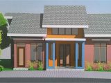 Front View Home Plans Small House Design with Eye Catching Color Game Tiny