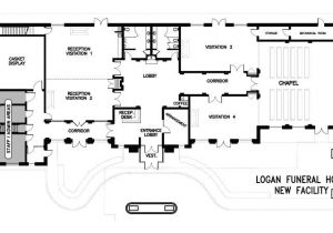 Funeral Home Building Plans Bardencommercial Floor Plans Misc Pinterest