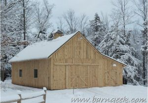 Gable Barn Homes Plans 22×50 Gable Barn Plans with Shed Roof Lean to Farm Life