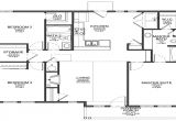 Garage Home Floor Plans 2 Bedroom House with Garage Small 3 Bedroom House Floor