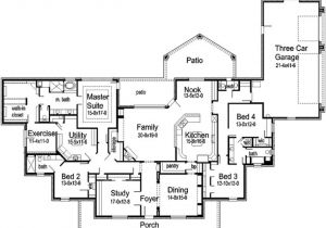 Garage Home Floor Plans House Floor Plans with Rv Garage attached House Floor