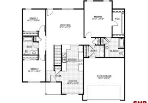 Garage Home Floor Plans Small Ranch House Plans Ranch House Plans No Garage One