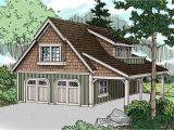 Garage Home Plans Craftsman House Plans Garage W Living 20 020