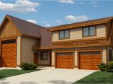 Garage Home Plans Rv Garage Apartment with Guest Bed 9839sw