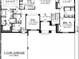 Garage Homes Floor Plans House Plans with Side Garage Homes Floor Plans