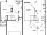 Garage Homes Floor Plans townhouse Plans with Garage Homes Floor Plans