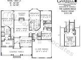 Garden Home Floor Plans Garden Ridge House Plan Active Adult House Plans