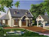 Garden Home House Plans Vacation Garden Home Design In 1200 Sq Feet Kerala Home