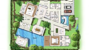 Garden Home Plans Saisawan Garden Villas Ground Floor Plan House Plans