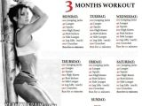 Get Fit at Home Plan 3 Months Workout Plan for Women Sixpack butt Legs