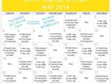 Get Fit at Home Plan Daily Beginner Workout Plan for May