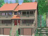 Getaway Home Plans Duplex House Plans Home Designs Vacation 3 Bedroom Floor