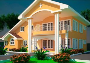 Ghana Homes Plans House Plans Ghana Offei 5 Bedroom House Plan In Ghana