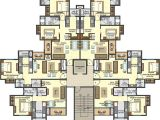 Gold Park Homes Floor Plans 1008 Sq Ft 3 Bhk 2t Apartment for Sale In Lodha Group