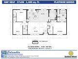 Golden Homes House Plans Columbia Manufactured Homes Golden West Platinum Series