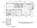 Golden West Homes Floor Plans Floor Plans Golden West Limited Series Tlc Manufactured Homes