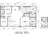 Golden West Homes Floor Plans Golden West Golden Oak Floor Plans 5starhomes