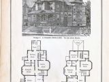 Gothic Home Plans Gothic Frame Dwelling Vintage House Plans 1881 Antique