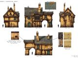 Gothic Home Plans Great Medieval House Plan Medieval Models Sketches